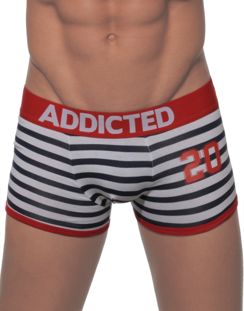 Red Sailor Front Addicted Men's Sailor Boxer AD142