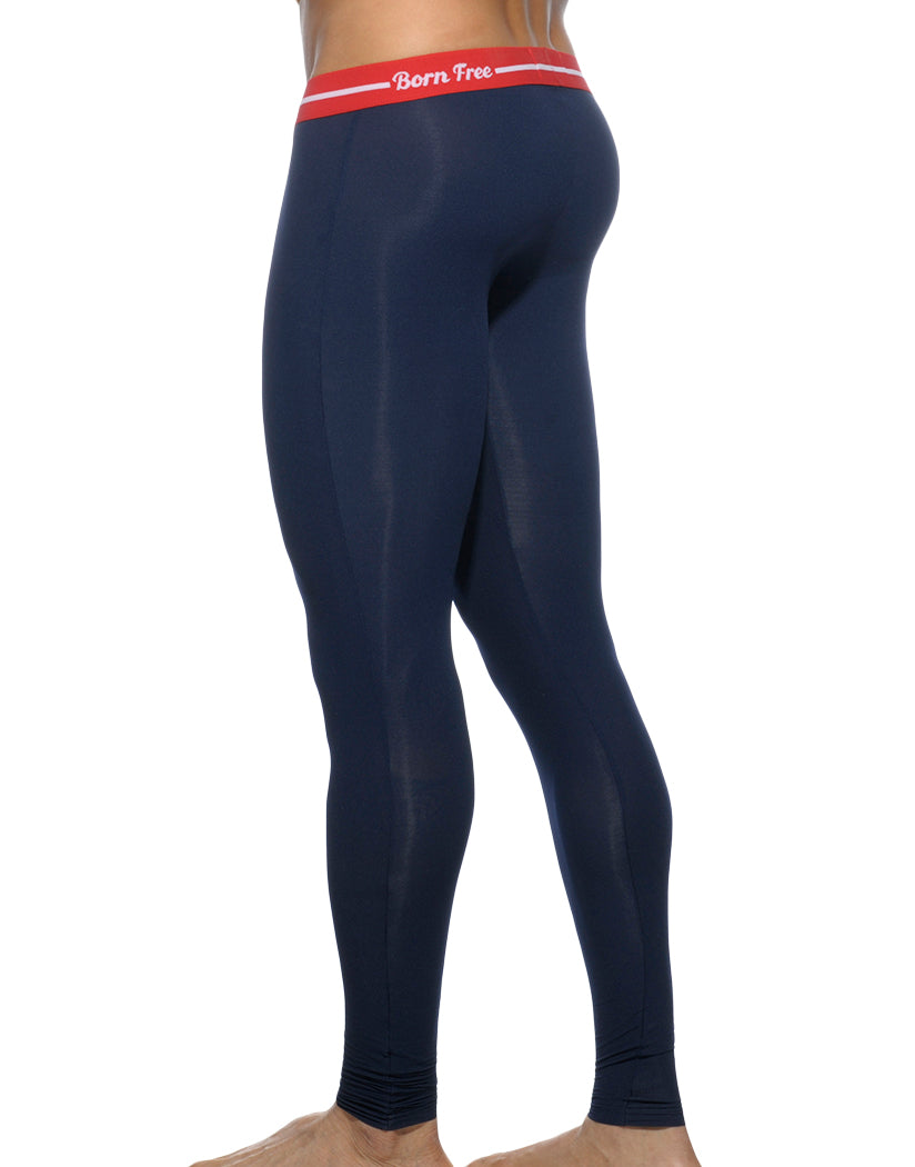 Navy Back Addicted Light Long John Navy
