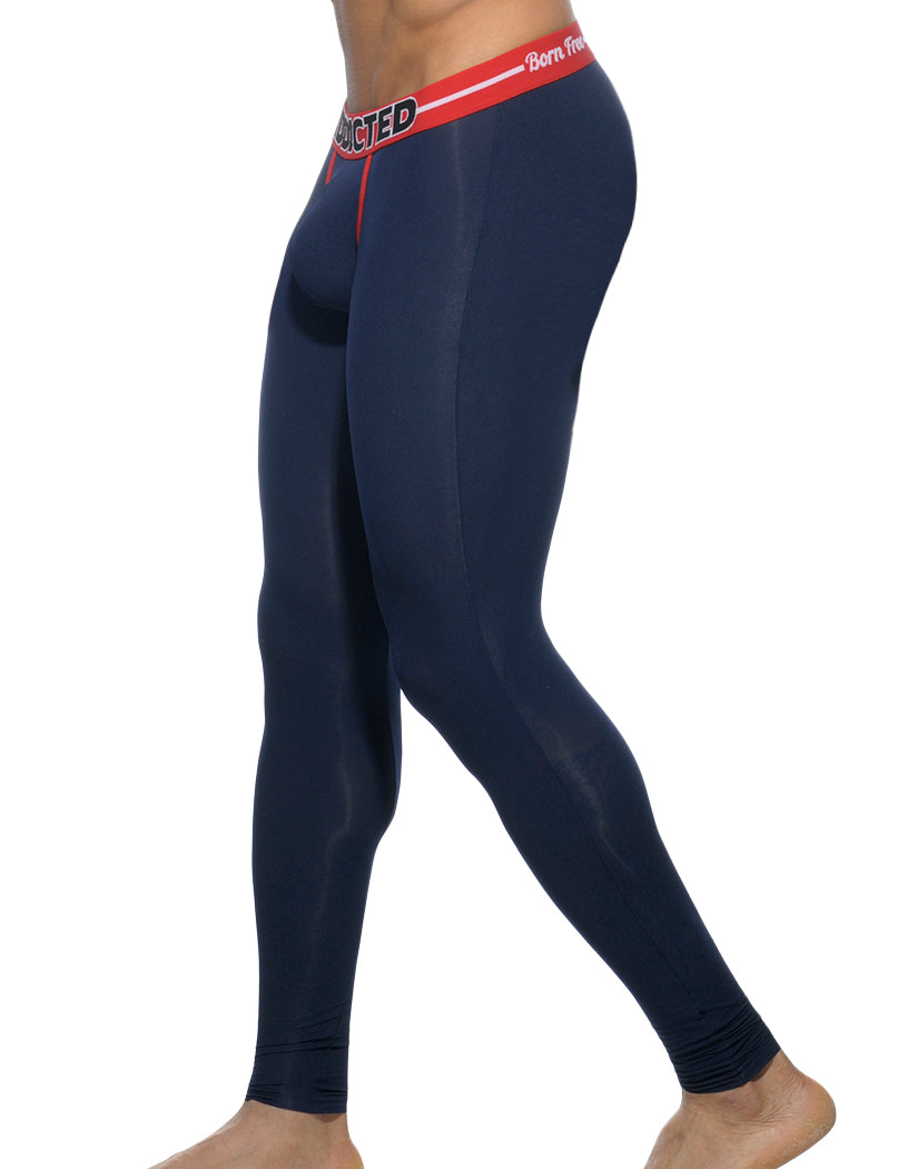 Navy Side Addicted Light Long John Navy