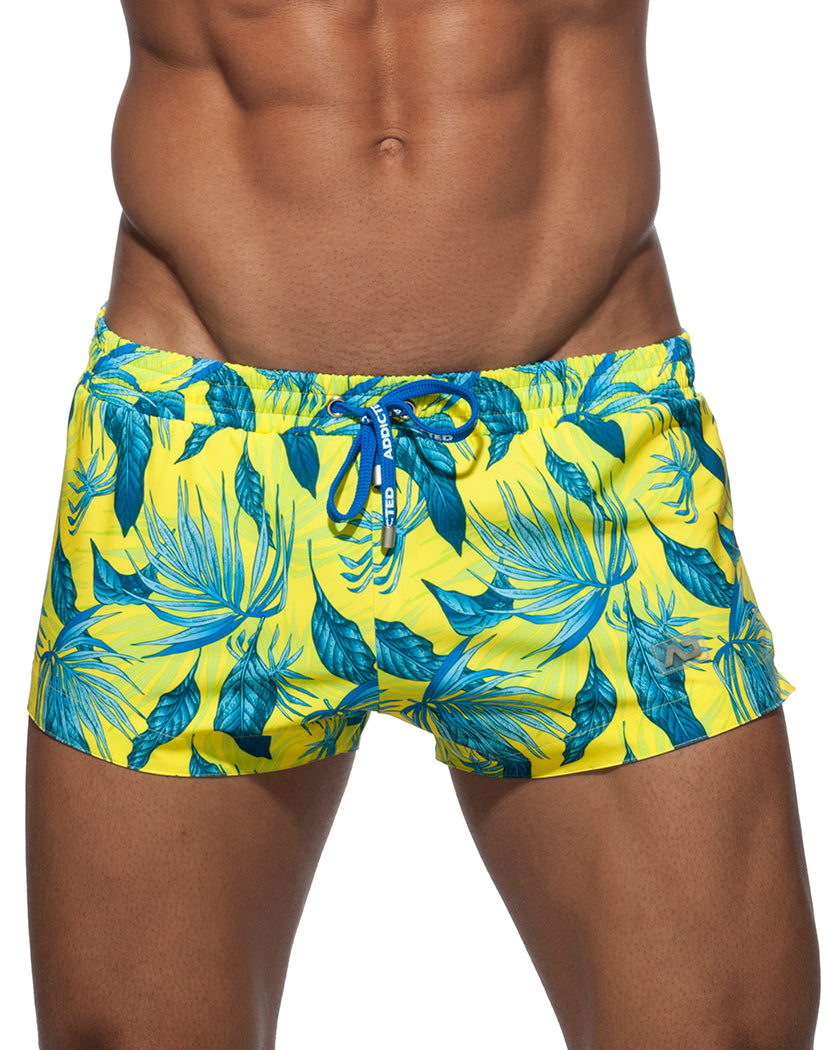 Yellow Front Addicted Swim Plants Short Yellow