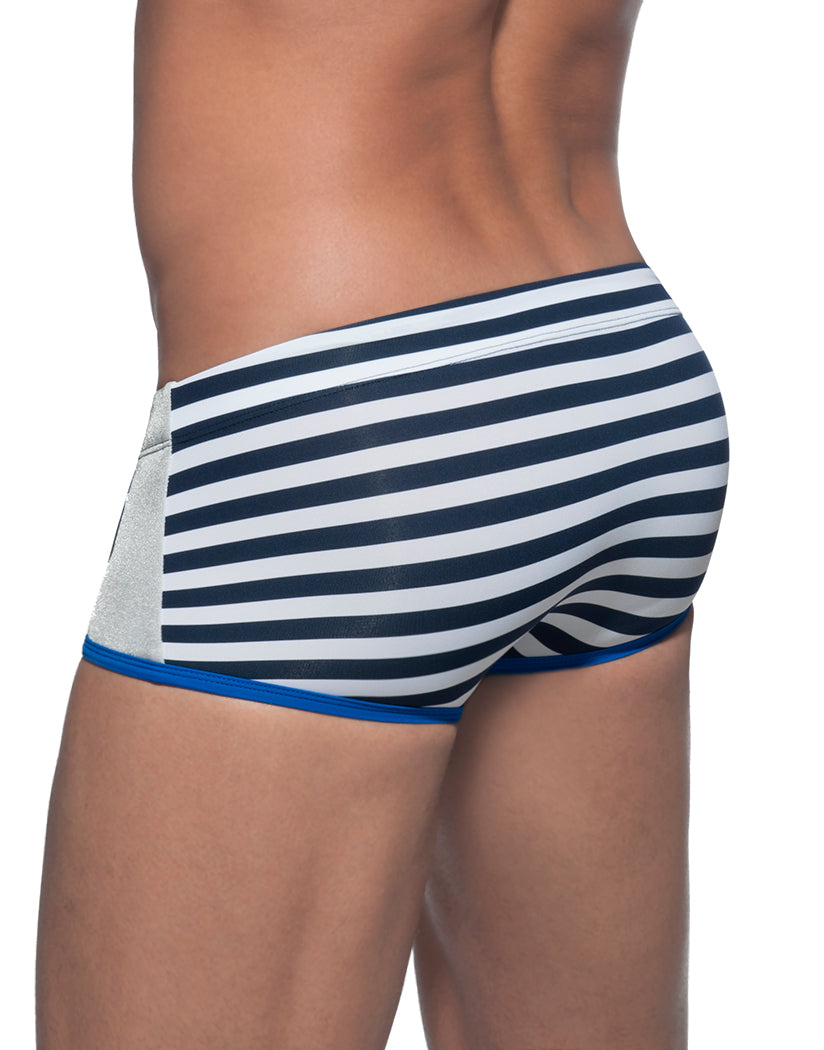 Surf Blue Back Addicted Metal Sailor Swim Boxer