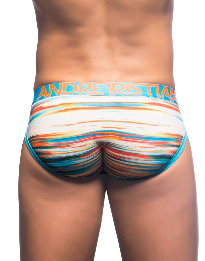 Sunset Stripe Back Andrew Christian Almost Naked Sunset Brief