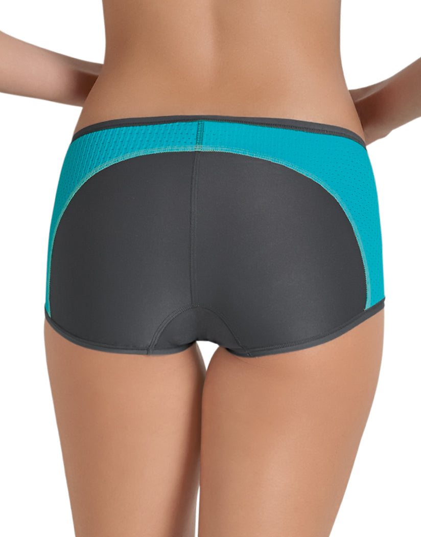 Peacock/Anthracite Back Anita Sport Panty