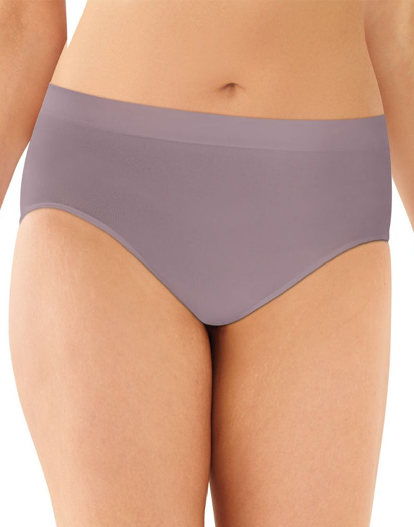 Warm Steel Front Bali One Smooth U All-Around Smoothing Hi-Cut Brief Panty 2362