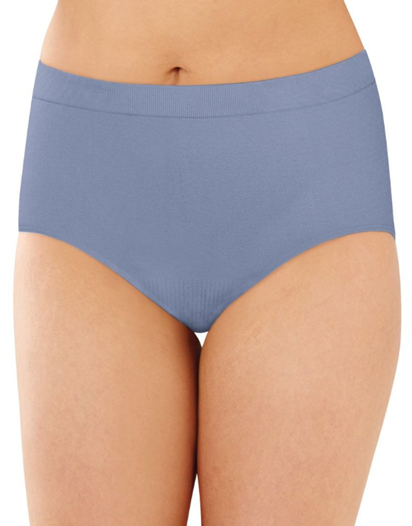 Chateau Blue Front Bali Comfort Revolution Lace Seamless Brief Panty 803J