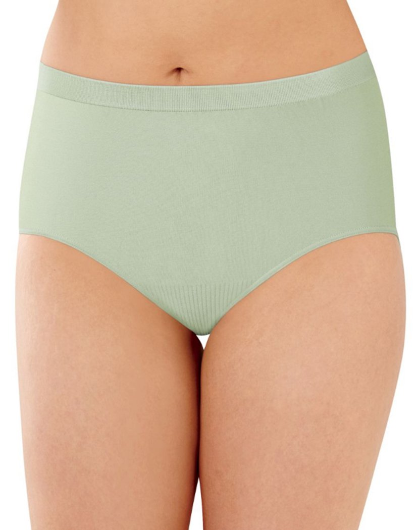 Country Spearmint Front Bali Comfort Revolution Lace Seamless Brief Panty 803J
