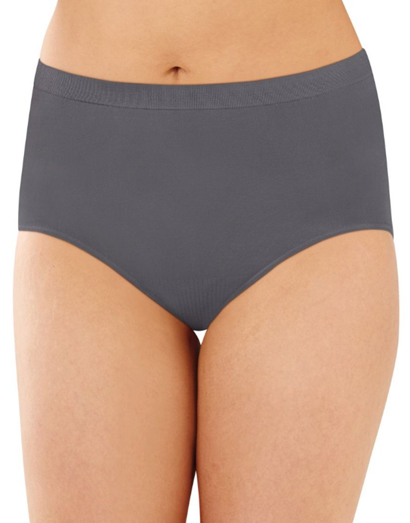 Excaliber Front Bali Comfort Revolution Lace Seamless Brief Panty 803J
