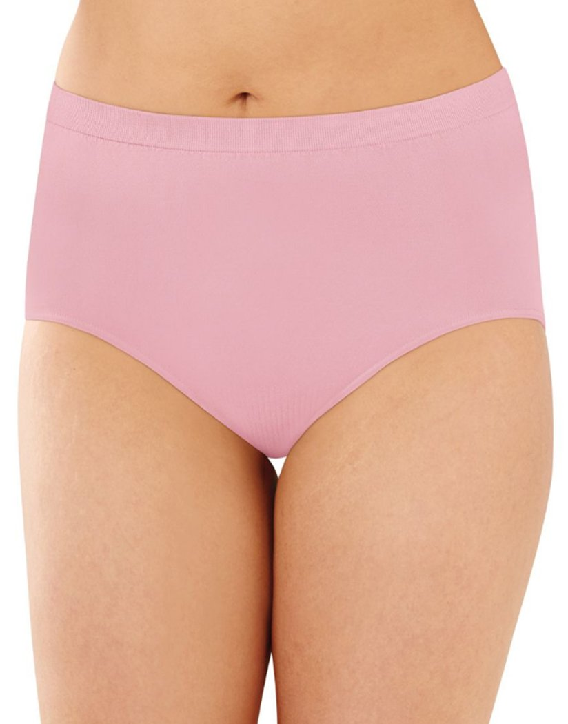 Pink Sands Front Bali Comfort Revolution Lace Seamless Brief Panty 803J