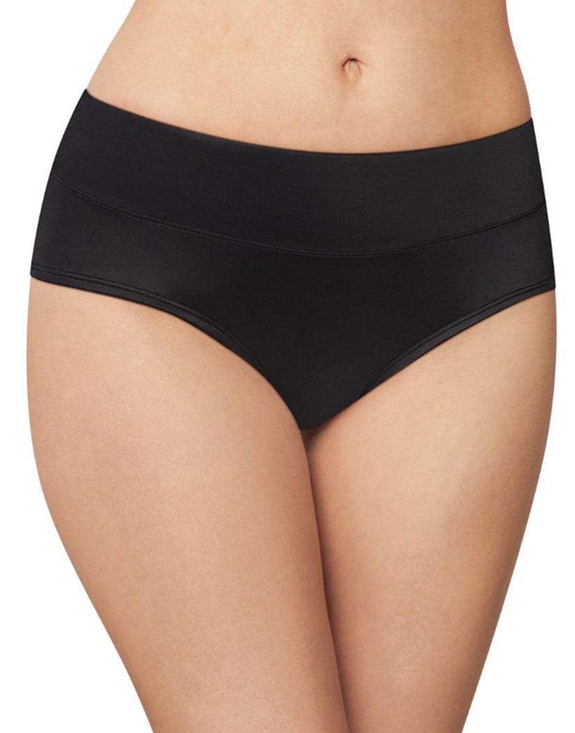 Black Front Bali Passion for Comfort Lace No Show Hipster Panty DFPC63