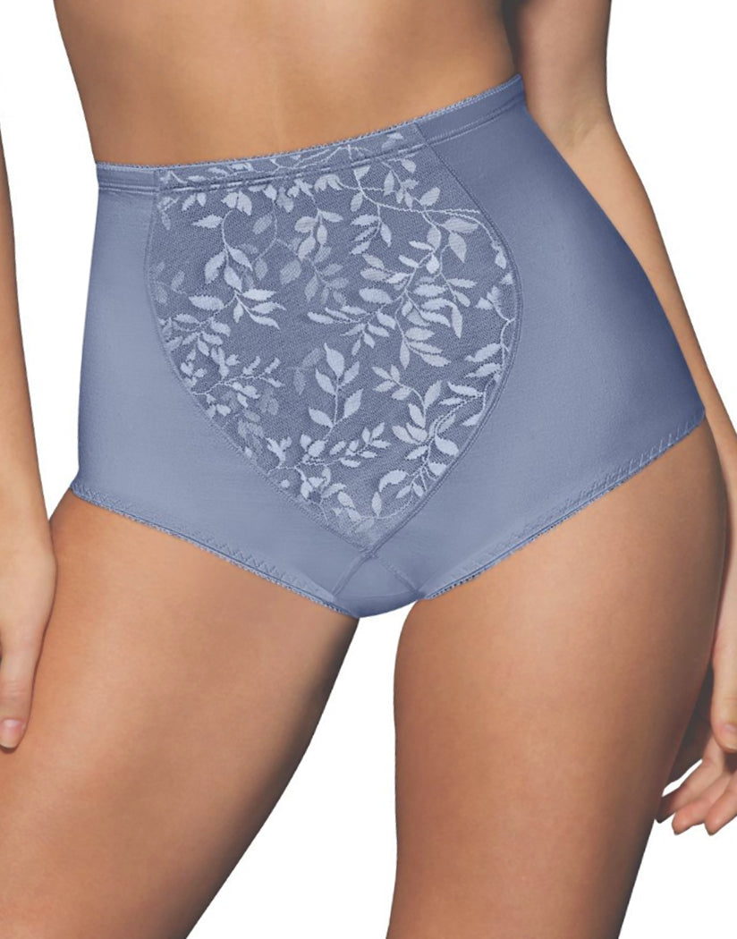 In The Navy/Chateau Blue Front Bali Body Tummy Panel Brief Panty with Moderate Control 2-Pack X710