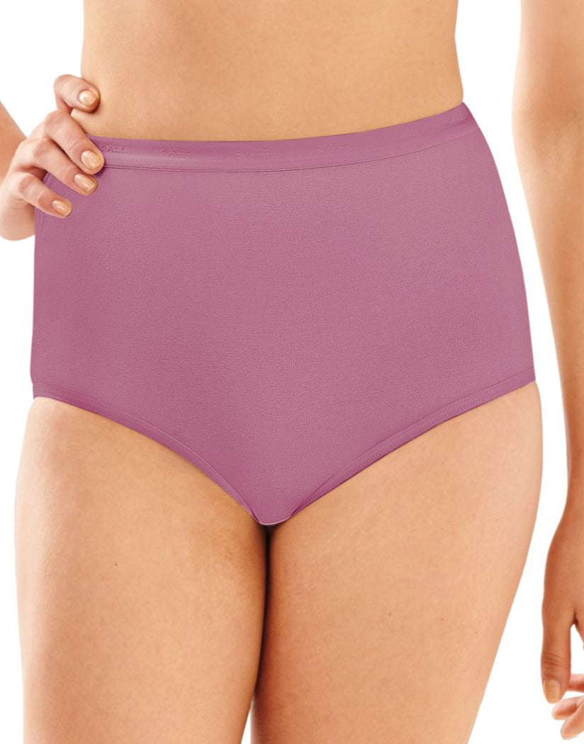 Greenhouse Lavender Front Bali Full-Cut Fit Stretch Brief Panty 2324