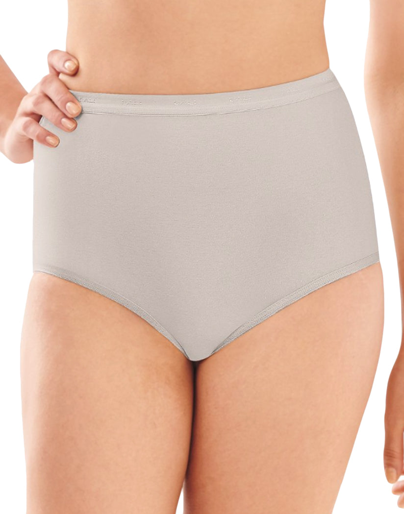 Grey Sky Heather Front Full-Cut Fit Stretch Brief