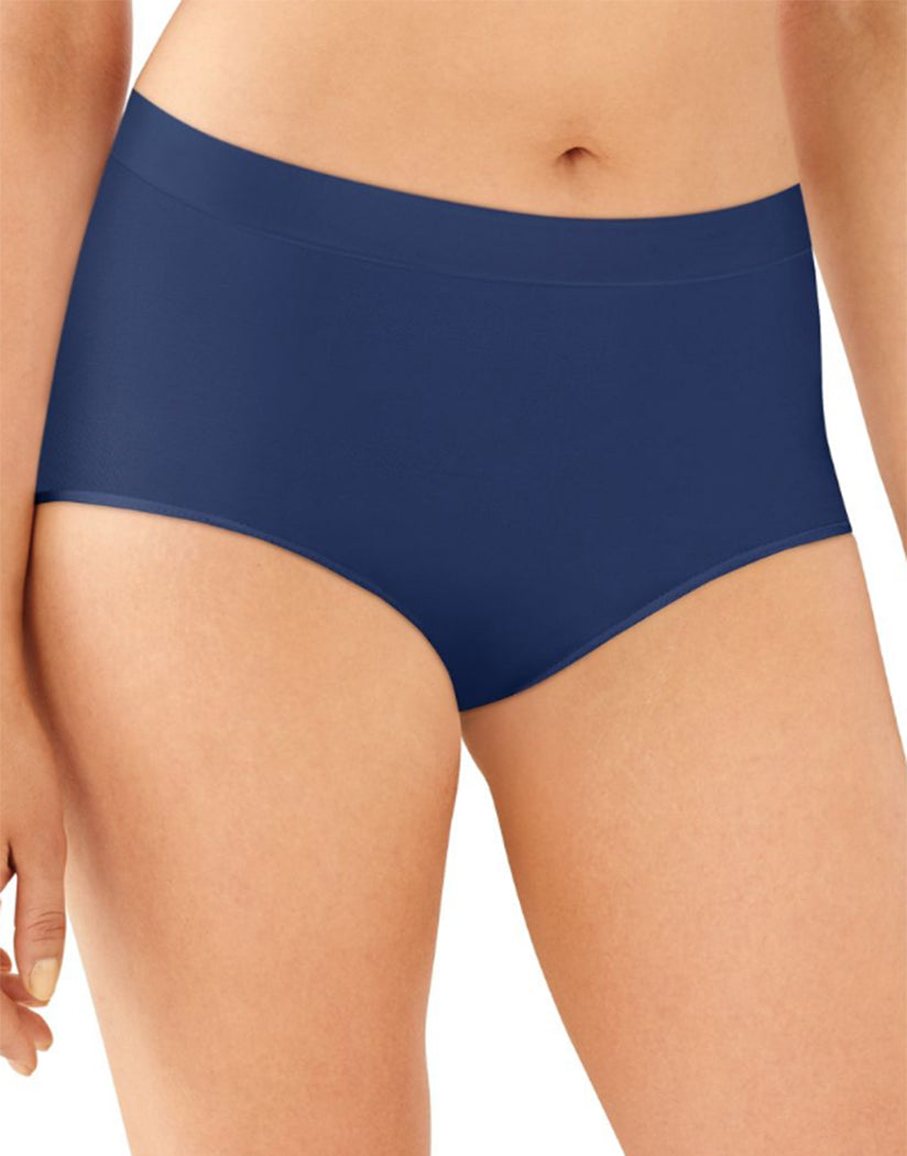 In The Navy Front Bali One Smooth U All-Around Smoothing Hi-Cut Brief Panty 2362