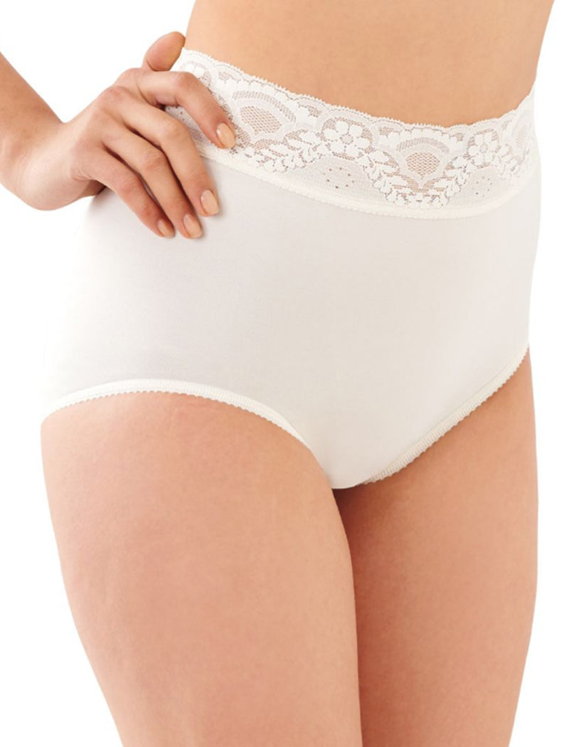 65a2632a1fe9 White Front Bali Lacy Skamp Brief Panty