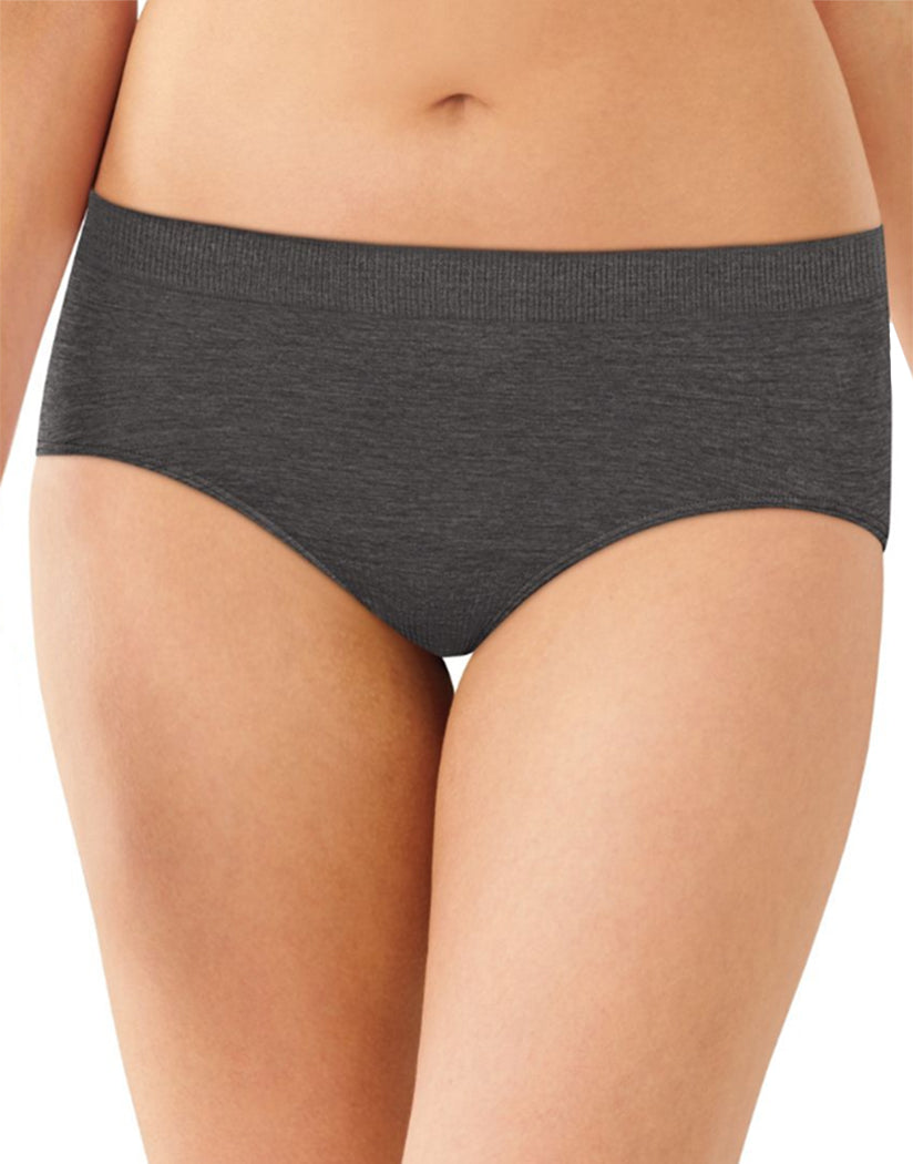 Gravel Grey Front Bali Comfort Revolution Seamless No Show Hipster Panty 2990