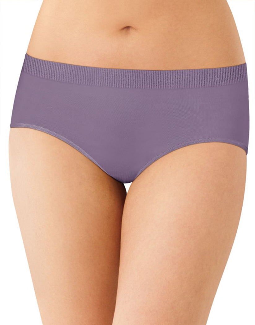 Purple Shade Front Bali Comfort Revolution Seamless No Show Hipster Panty 2990