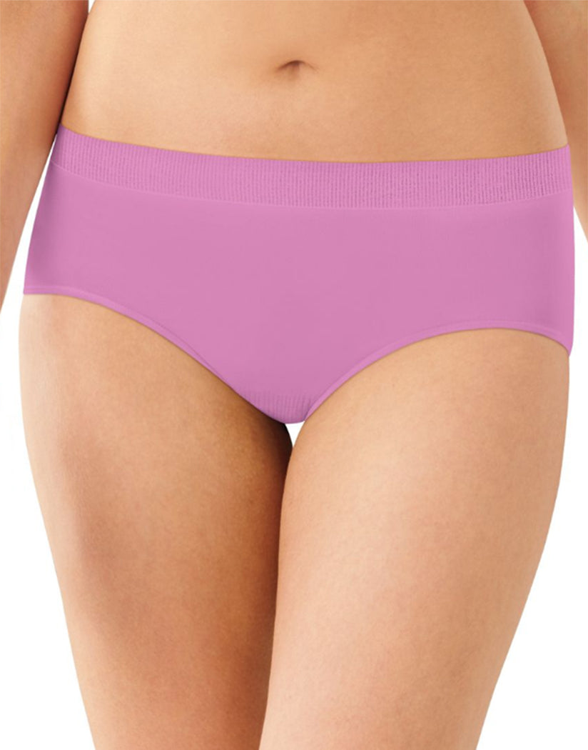 Winter Lilac Front Bali Comfort Revolution Seamless No Show Hipster Panty 2990
