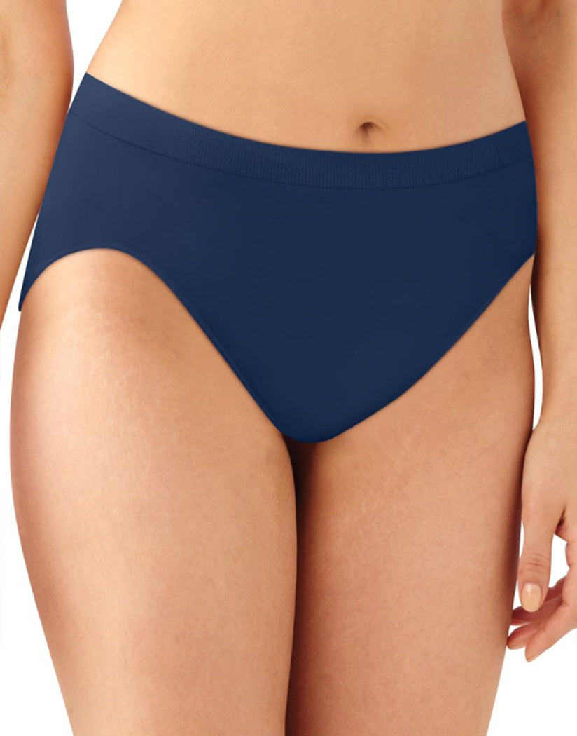 626ae95363a In The Navy Front Bali Barely There Comfort Revolution Microfiber Seamless  High Cut Brief Panty 303j