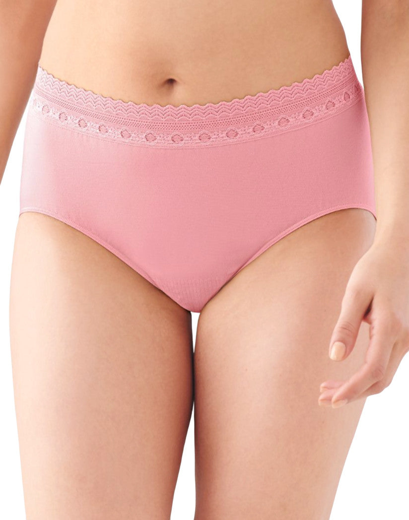 Rose Bloom Pink Lace Front Baliå¨ Comfort Revolutionå¨ Lace Brief