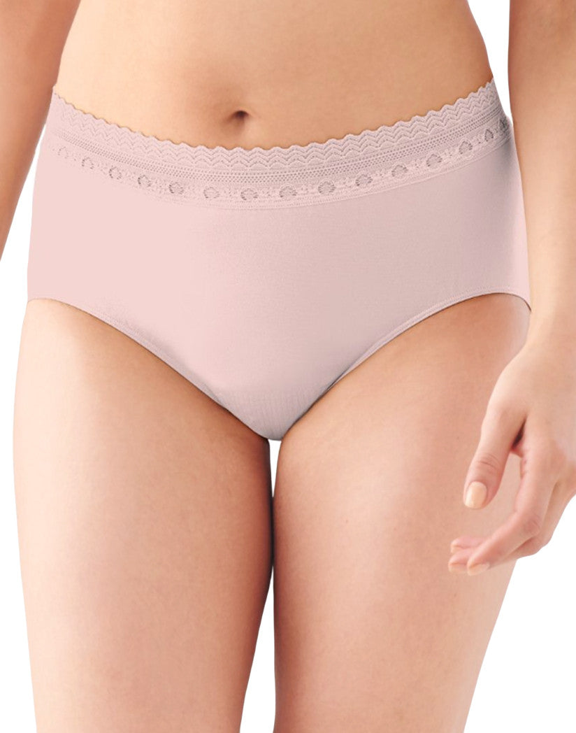 Sheer Pale Pink Lace Lace Front Baliå¨ Comfort Revolutionå¨ Lace Brief
