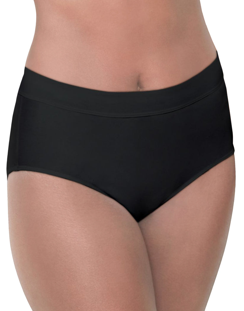 Black Front Bali Comfort Revolution Incredibly Soft Brief DFSBF1
