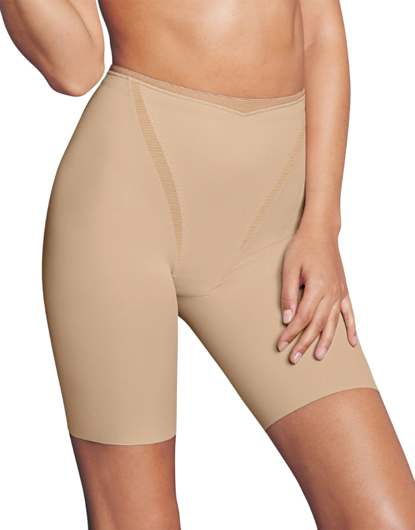 Latte Lift Front Maidenform Firm Foundations Thigh Slimmer DM5005