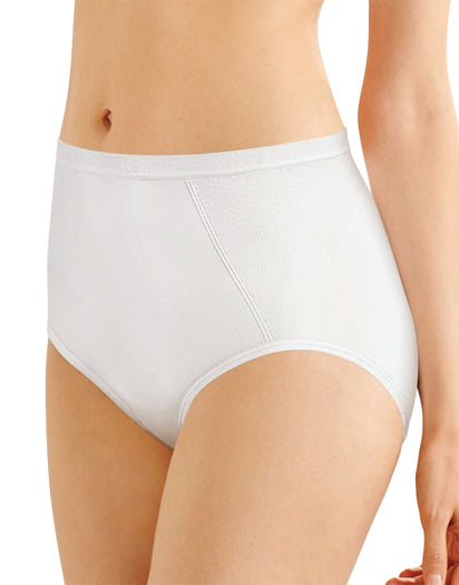 White Front Seamless Firm Control Brief Shaper 2- Pack