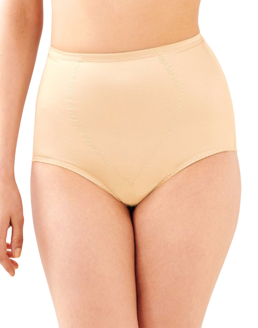 Light Beige Front Bali Body Tummy Panel Brief with Moderate Control 2-Pack