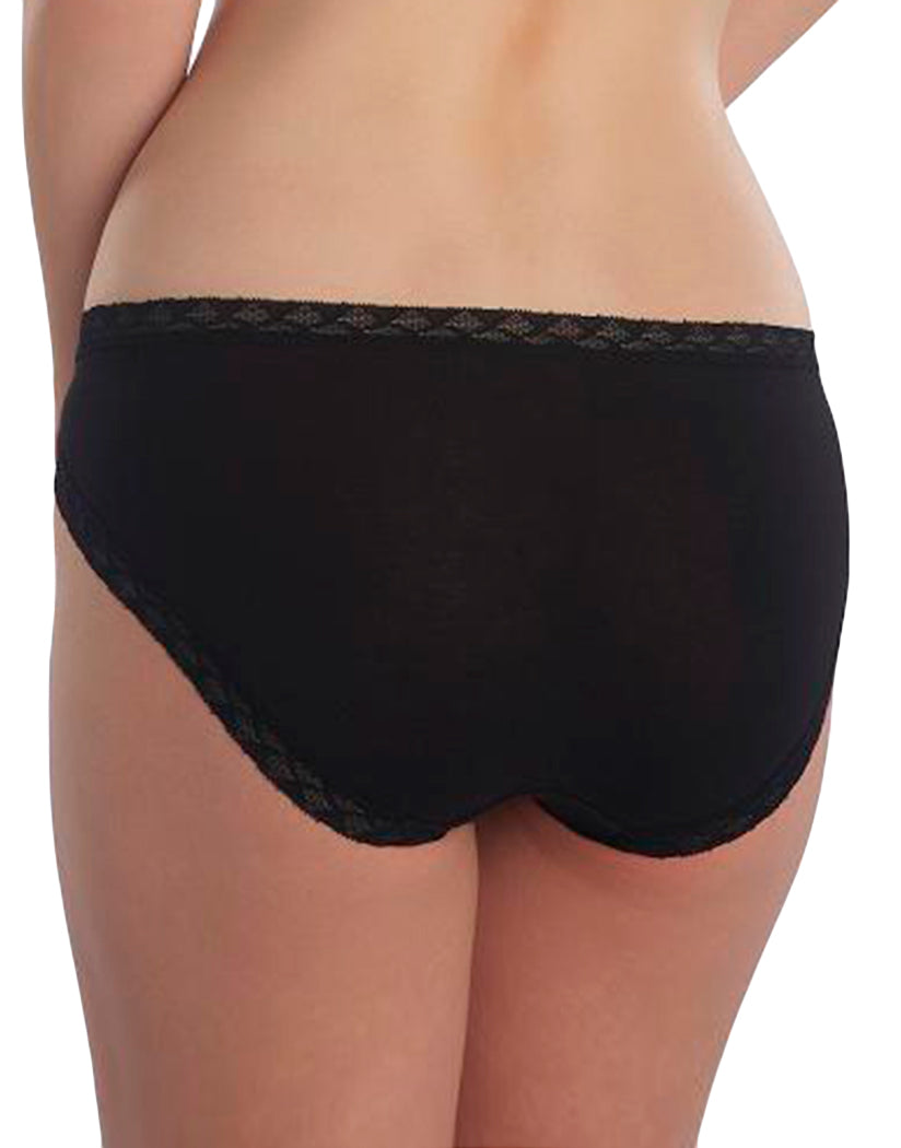 Black Back Natori Cotton Bliss Girl Brief - 156058