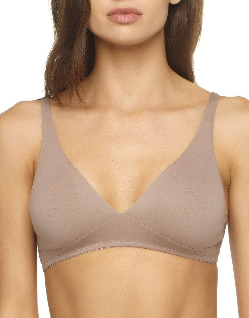 tan v-neck bra for women