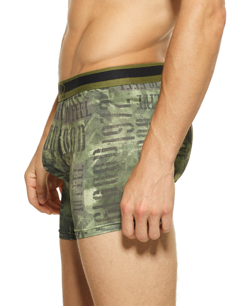 Buffalo Gunner Side Buffalo Poly Stretch Boxer Brief Buffalo Gunner BO10043