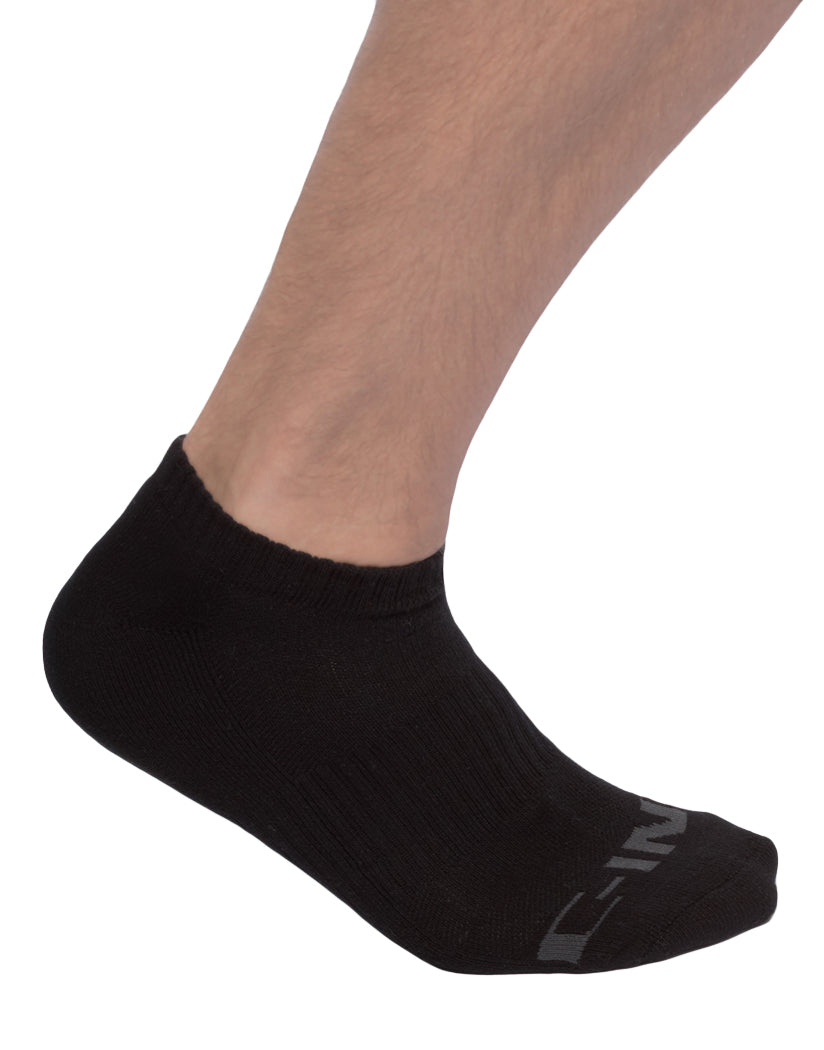 Black Front C-IN2 Core No Show Socks 3-Pack