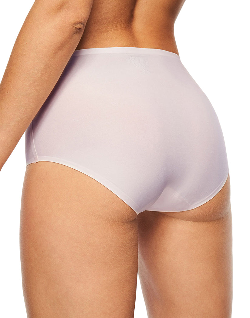 Blushing Pink Back Chantelle Soft Stretch Seamless One Size Brief Panty 2647