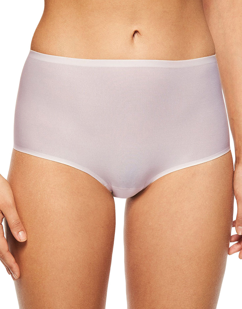 Blushing Pink Front Chantelle Soft Stretch Seamless One Size Brief Panty 2647
