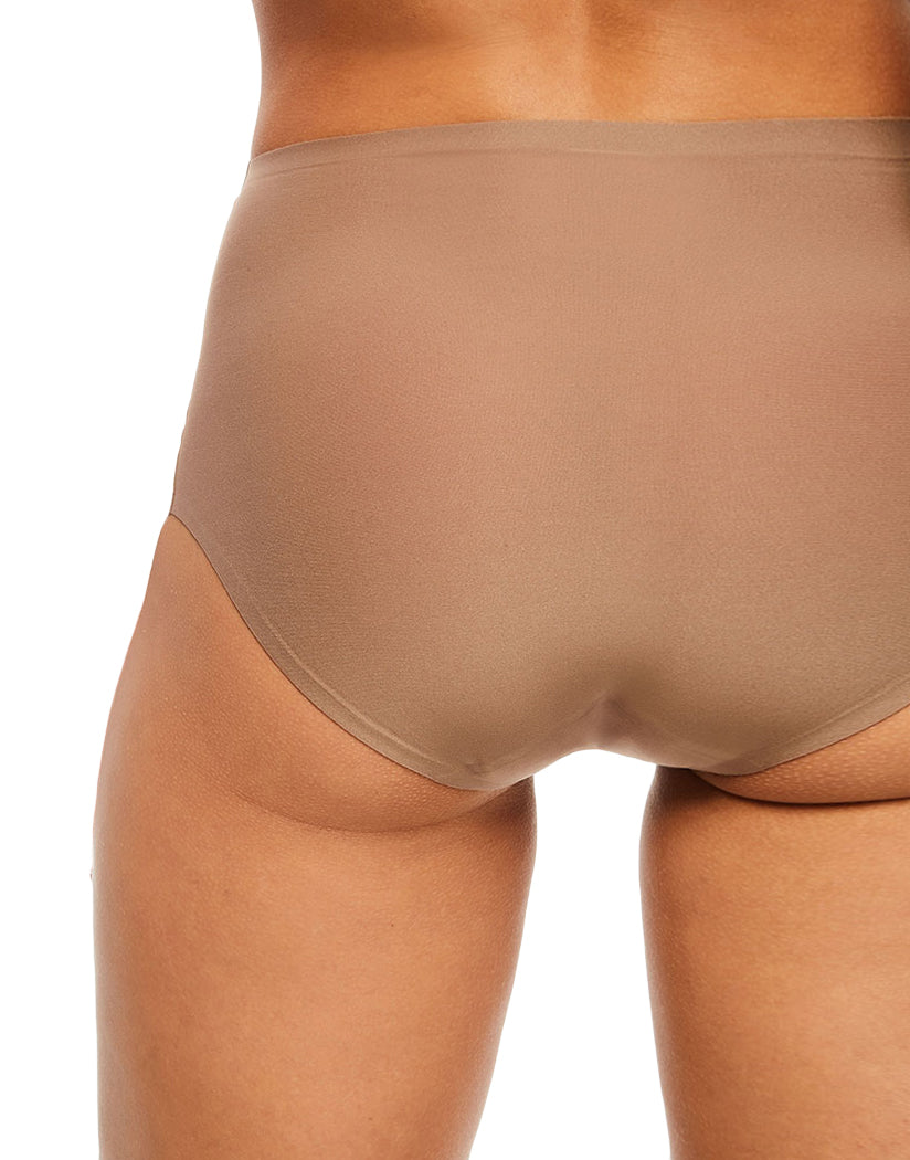 Hazelnut Back Chantelle Soft Stretch Seamless One Size Brief Panty 2647