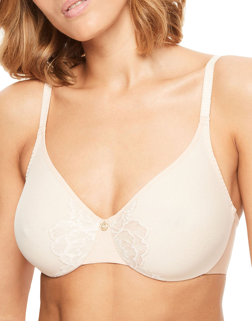 Skin Rose Front Chantelle Orangerie Full Coverage Unlined Seamless Underwire Bra 6767