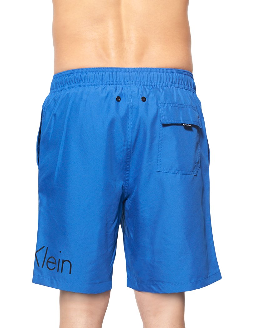 Surf The Web Back Calvin Klein Solid Volley Swim Short Surf the Web
