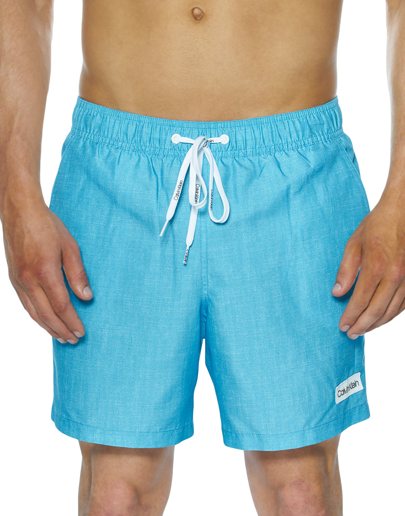 Malibu Blue Front Calvin Klein Chambray Euro Volley 5