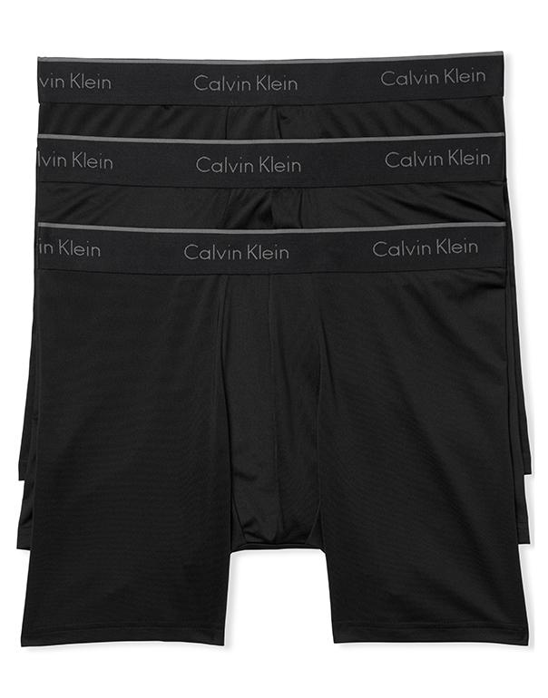 Black Front 3-Pack Micro Boxer Brief