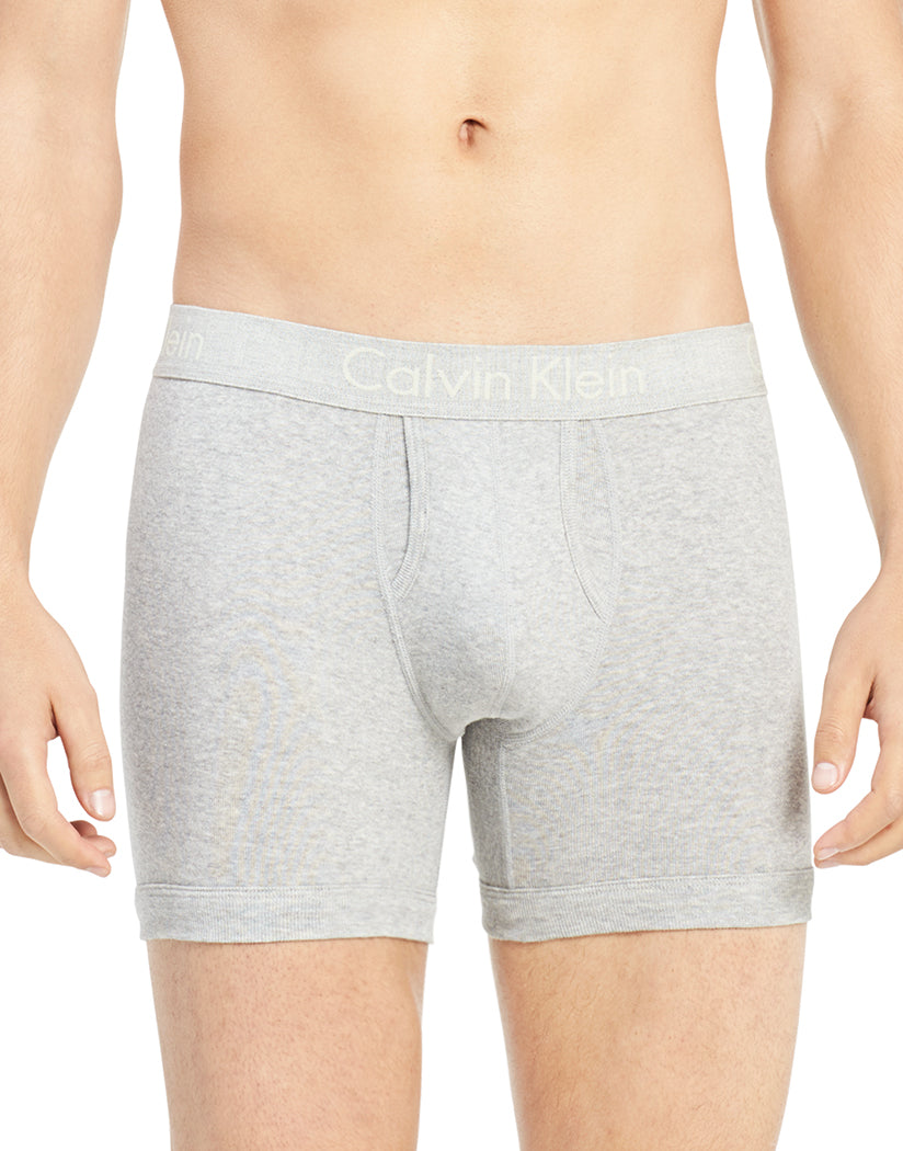 Grey Heather Front Calvin Klein Body Boxer Brief