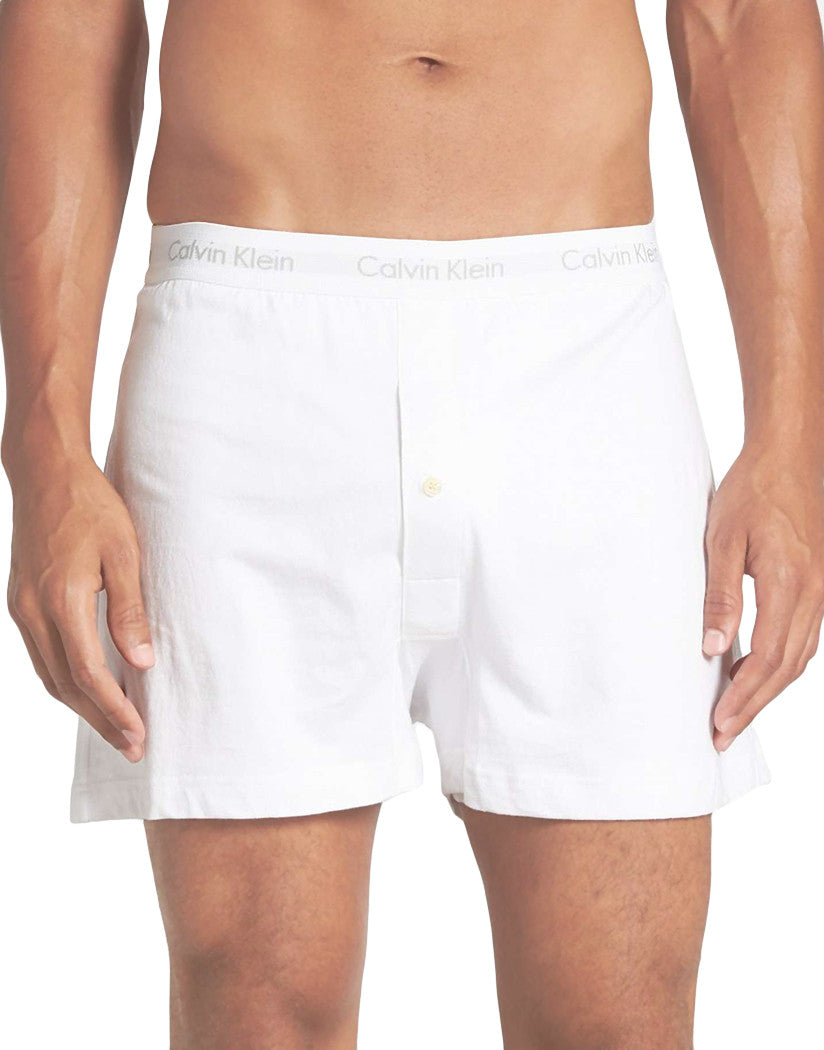 White Front 3-Pack Cotton Classic Knit Boxer Shorts