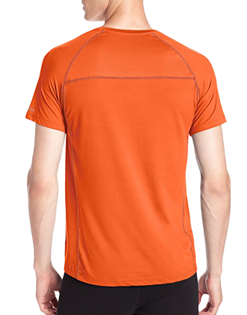 Clementine Back Athletic Short Sleeve V-Neck T-Shirt