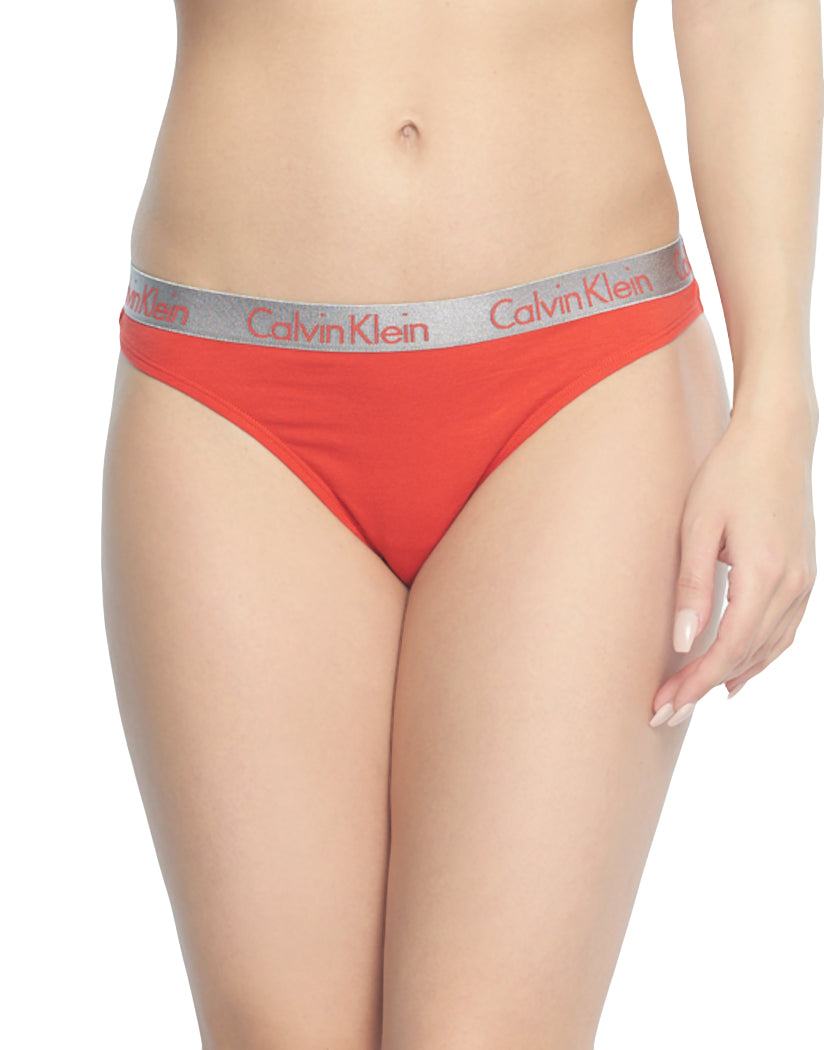 Marlow Front Calvin Klein Women Cotton Radiant Thongs