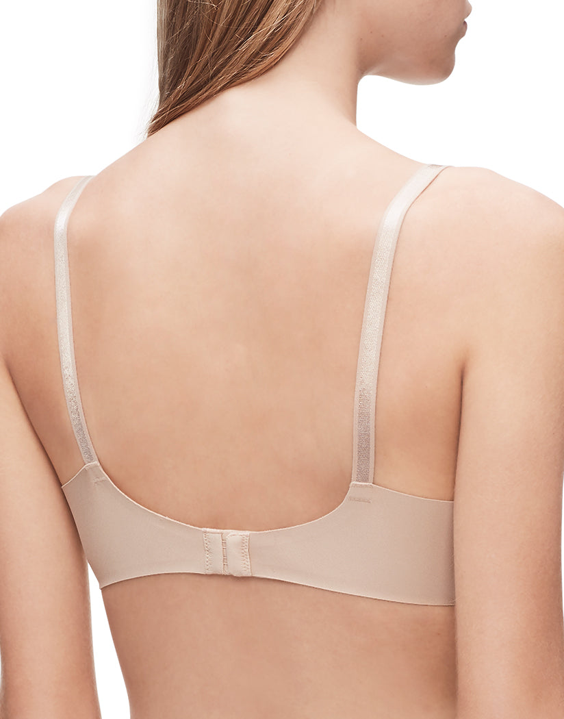 Bare Back Calvin Klein Women Invisibles Full Coverage Contour T-Shirt Bra QF1184