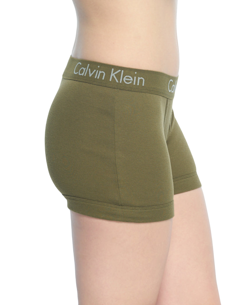 Riffle Green Side Calvin Klein Women Body Boyshort Panty Rifle Green
