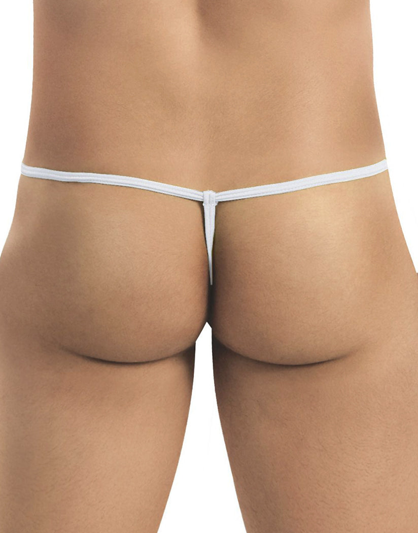 White Back Candyman G-String Thong 9586