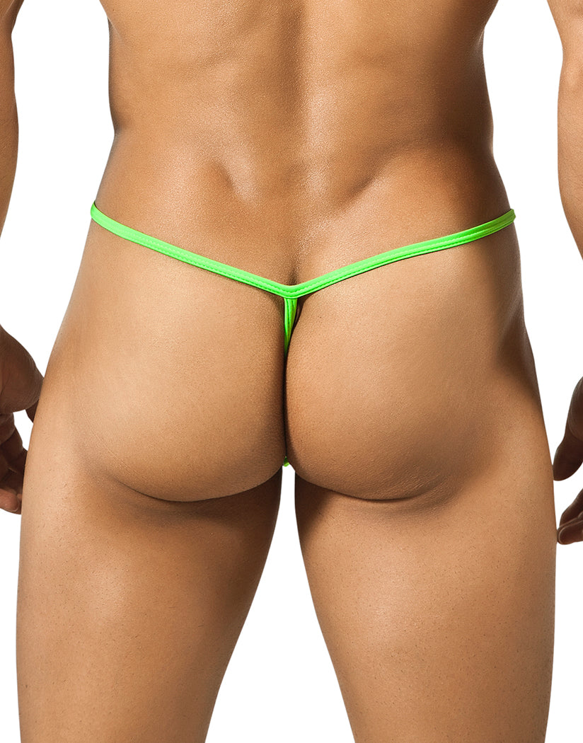 Green Back Slim Thong Green