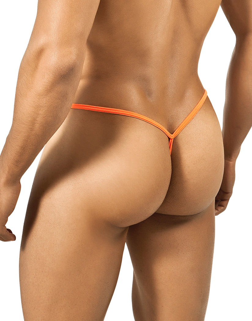 Orange Back Slim Thong Orange