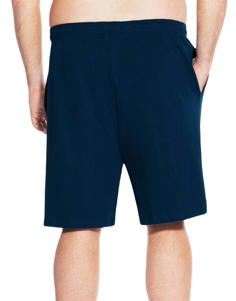 Navy Back Champion Mens Big Jersey Short CH301