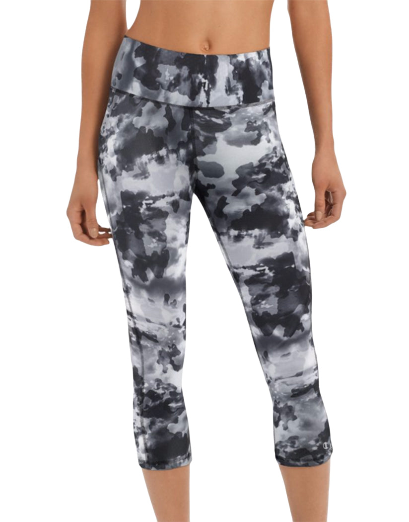 Sky Camo Neutral Front Absolute Print Capris
